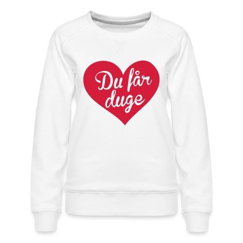 Ekte kjærlighet - Det norske plagg - Premium-genser for kvinner