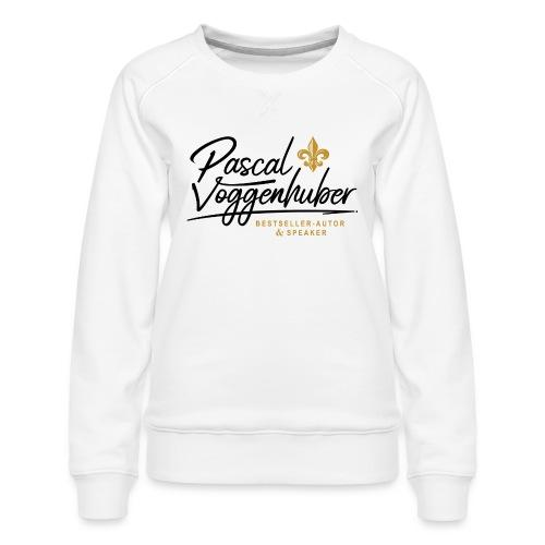 Pascal Voggenhuber Autor & Speaker - Frauen Premium Pullover