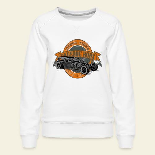 Raredog Rods Logo - Dame premium sweatshirt