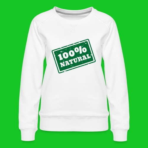 100% natural PNG - Vrouwen premium sweater