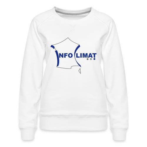 logo simplifié - Sweat ras-du-cou Premium Femme