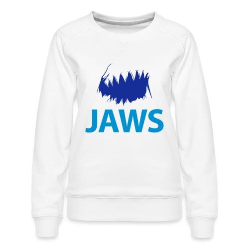 Jaws Dangerous T-Shirt - Women's Premium Sweatshirt