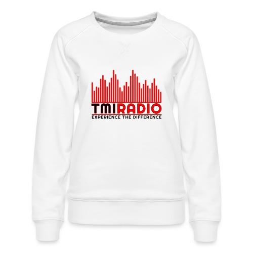 NEW TMI LOGO RED AND BLACK 2000 - Women's Premium Sweatshirt