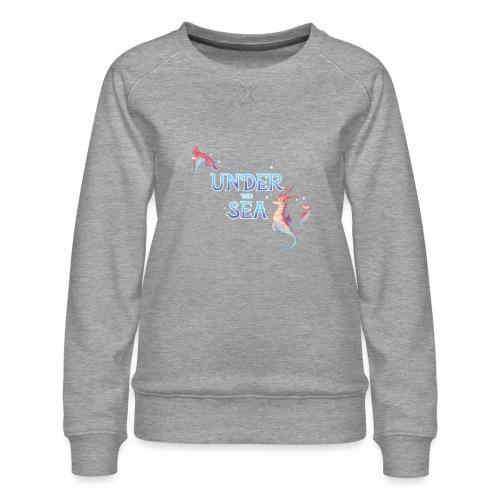 Under the Sea - Seahorses - Women's Premium Sweatshirt