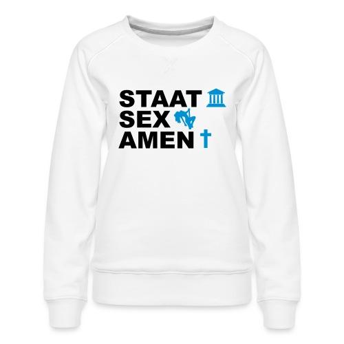Staatsexamen / Staat Sex Amen - Frauen Premium Pullover
