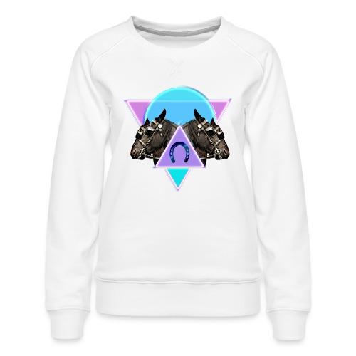 Neon horses - Women's Premium Sweatshirt