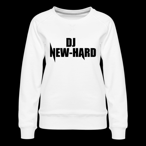 DJ NEW-HARD LOGO - Vrouwen premium sweater