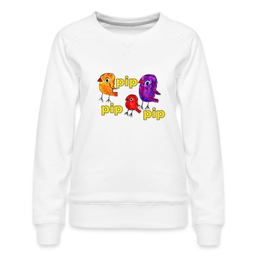 3er original pip pip pip gelb - Frauen Premium Pullover