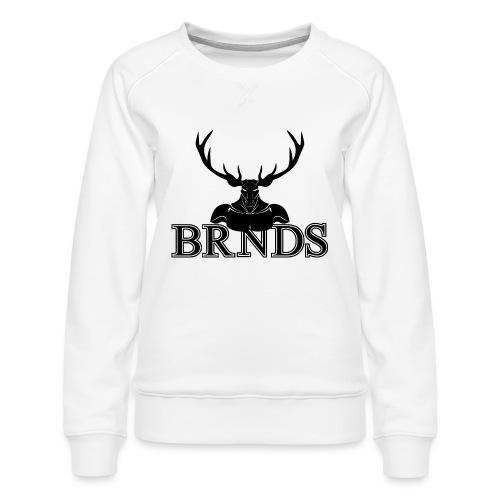BRNDS - Felpa premium da donna