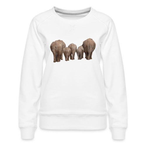 elephant 1049840 - Felpa premium da donna