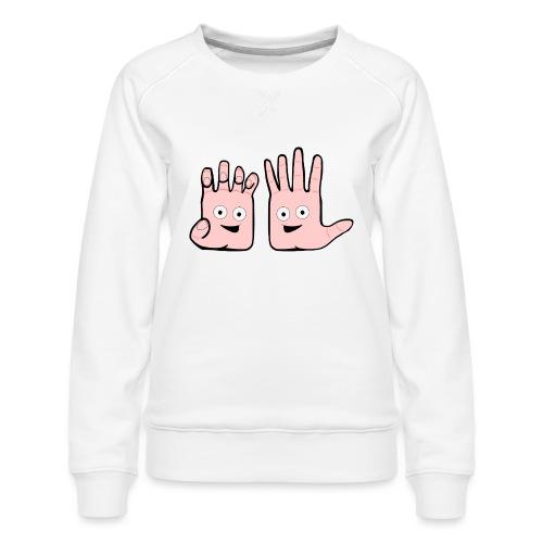 Winky Hands - Women's Premium Sweatshirt