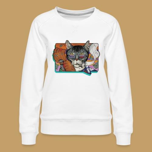 Crime Cat - Bluza damska Premium