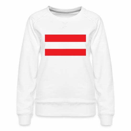 Oesterreich Weltmeisterschaft Fußball - Frauen Premium Pullover