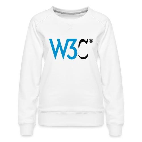 w3c - Women's Premium Sweatshirt