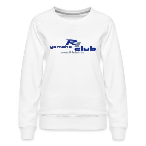 R1club Logo blau - Frauen Premium Pullover