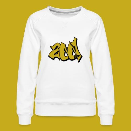 2001er Logo - Frauen Premium Pullover