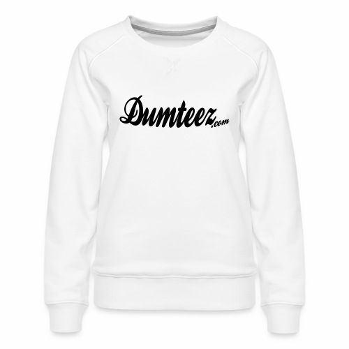 Dumteez vintage logo - Vrouwen premium sweater