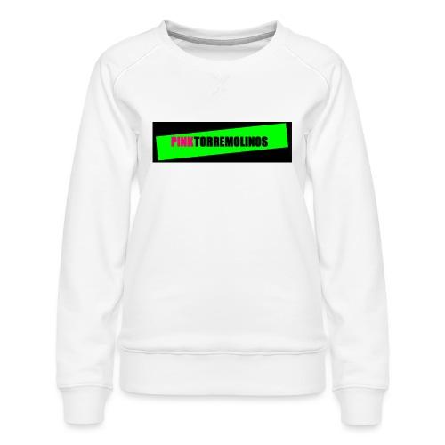 pinklogo - Vrouwen premium sweater