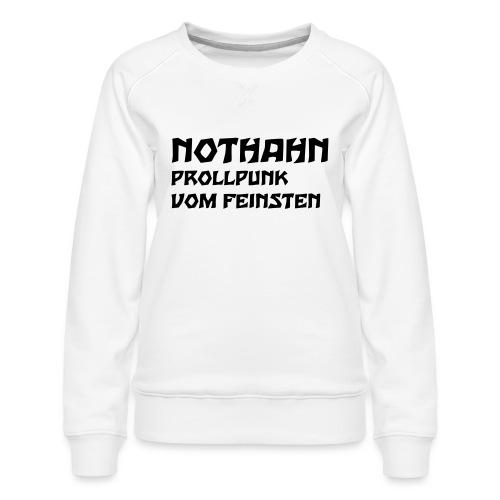 vorne - Frauen Premium Pullover