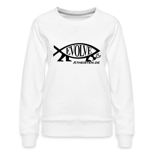 Atheisten Darwin Fish - Frauen Premium Pullover