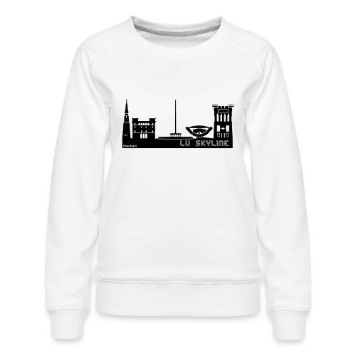 Lu skyline de Terni - Felpa premium da donna