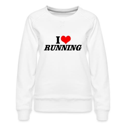 I love running - Frauen Premium Pullover