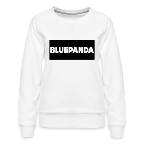 BLUE PANDA - Women's Premium Sweatshirt