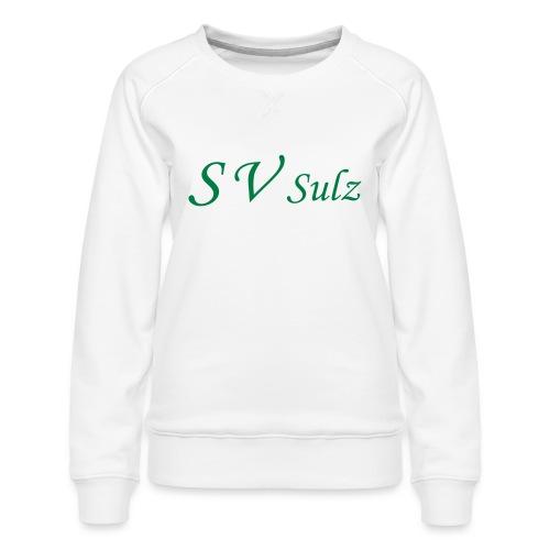 svs schrift 2 - Frauen Premium Pullover