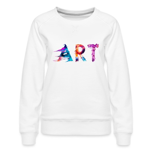 Art - Sweat ras-du-cou Premium Femme