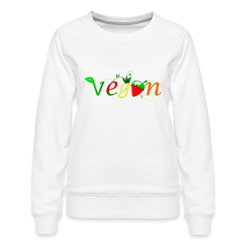 Vegan - Sudadera premium para mujer
