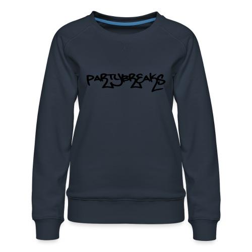 P-Breaks Schriftzug - Frauen Premium Pullover