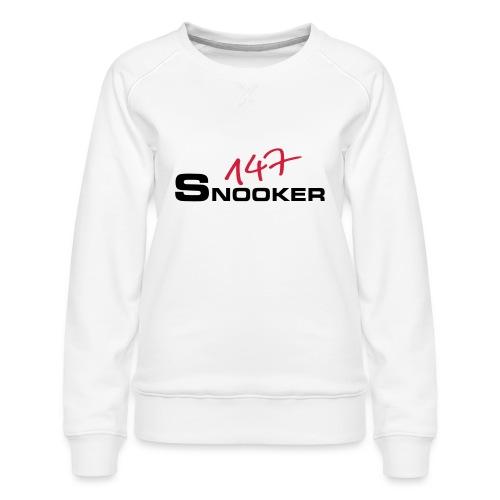 147_snooker - Frauen Premium Pullover
