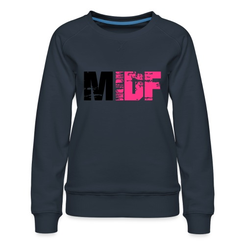 Logo MIDF 2 - Sweat ras-du-cou Premium Femme