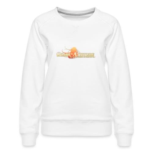 logo oa v3 v1 fond clair - Sweat ras-du-cou Premium Femme