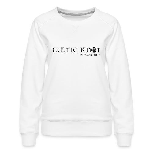 Celtic knot - Felpa premium da donna