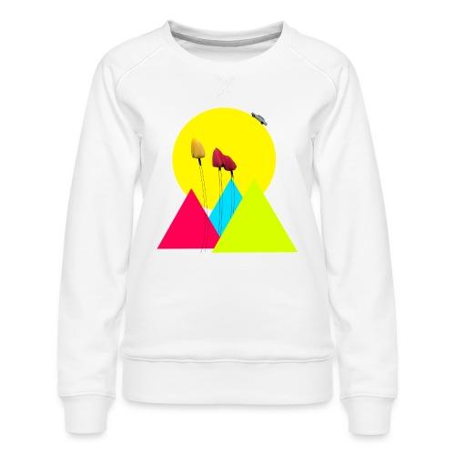 tulips - Women's Premium Sweatshirt