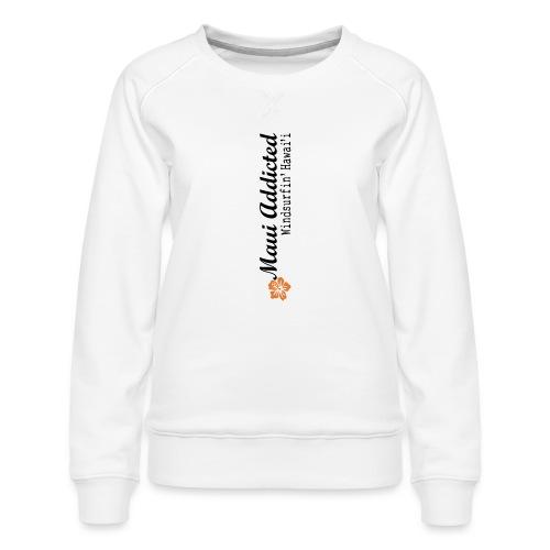 MAddLogoVert ai - Women's Premium Sweatshirt