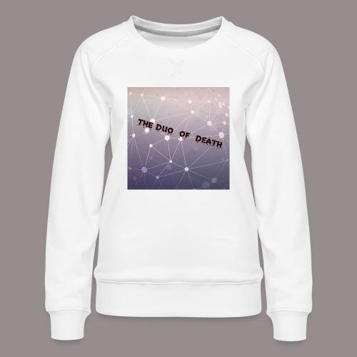 The duo of death logo - Vrouwen premium sweater