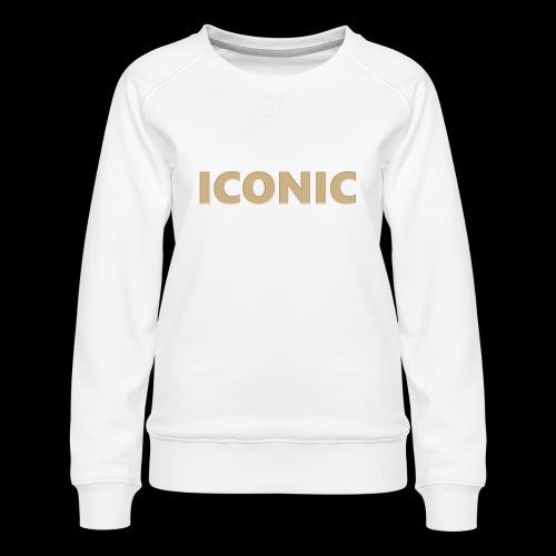 ICONIC [Cyber Glam Collection] - Women's Premium Sweatshirt