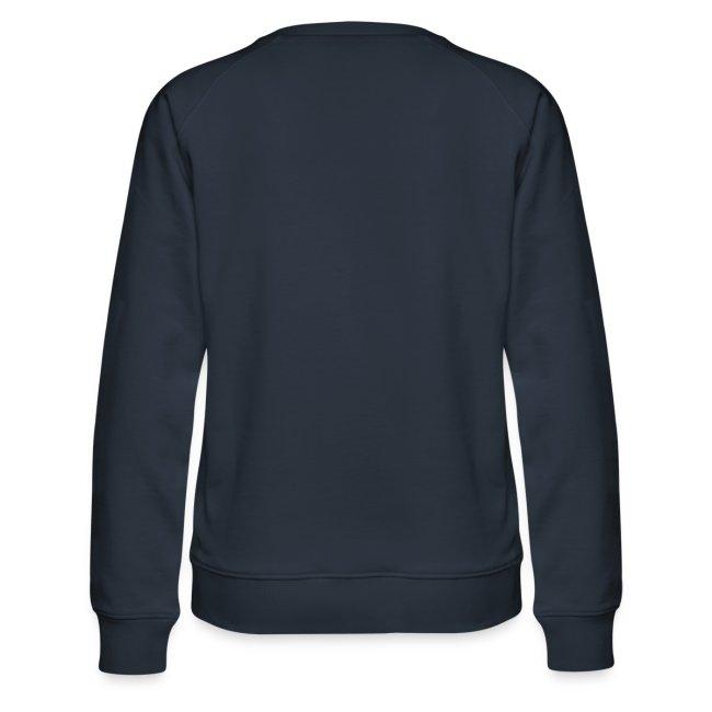 Vorschau: cat pocket - Frauen Premium Pullover