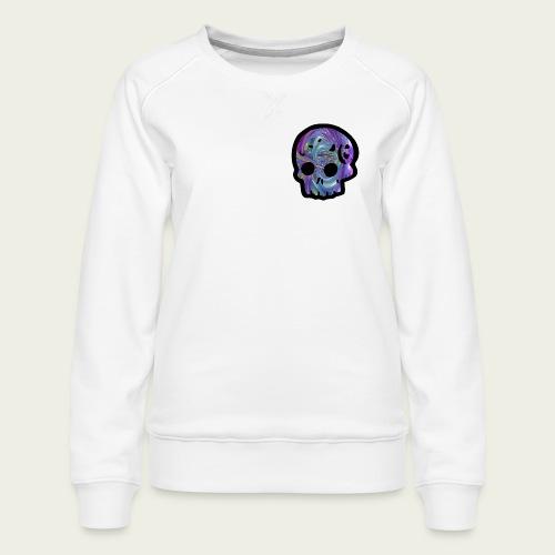 Skull craneo metalico - Sudadera premium para mujer