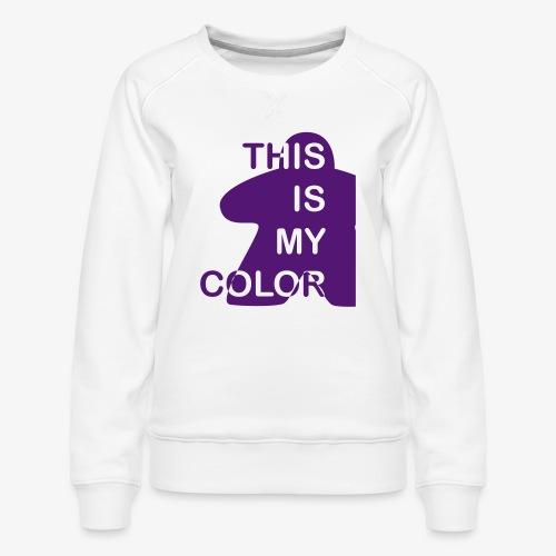 That is my Color - Premium-genser for kvinner