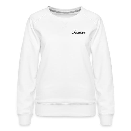 Stahlzart Original S - Pullover Damen weiß - Frauen Premium Pullover