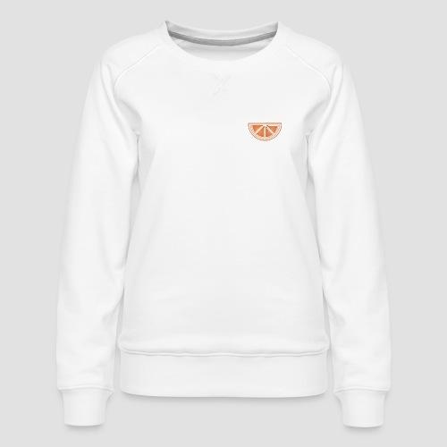 Mandarino design - Felpa premium da donna