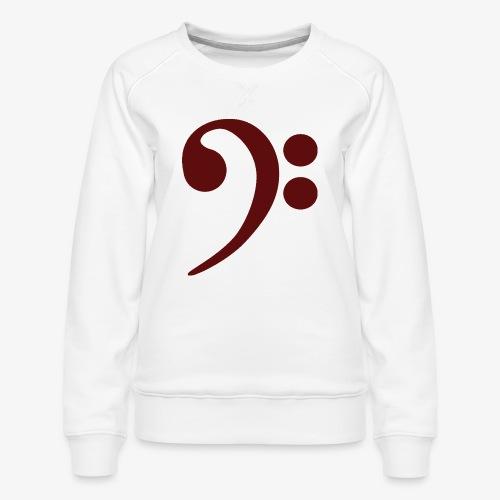 Bass-Key-4 - Frauen Premium Pullover