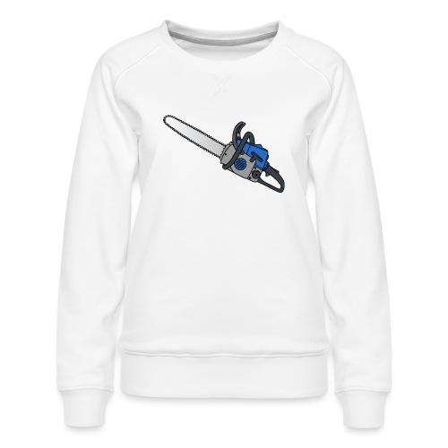 Kettensäge - Frauen Premium Pullover