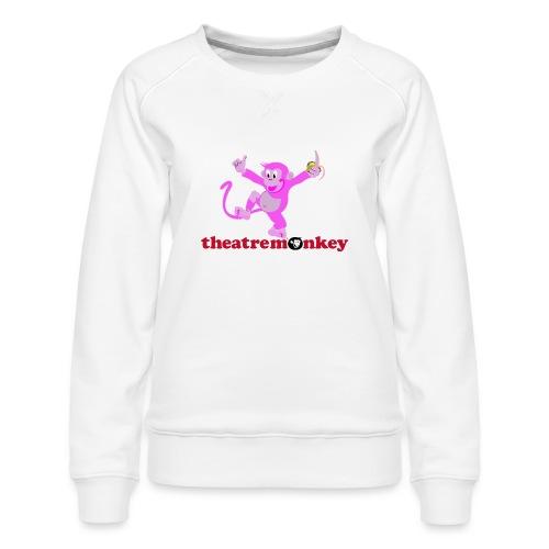 Sammy is In The Pink! - Women's Premium Sweatshirt