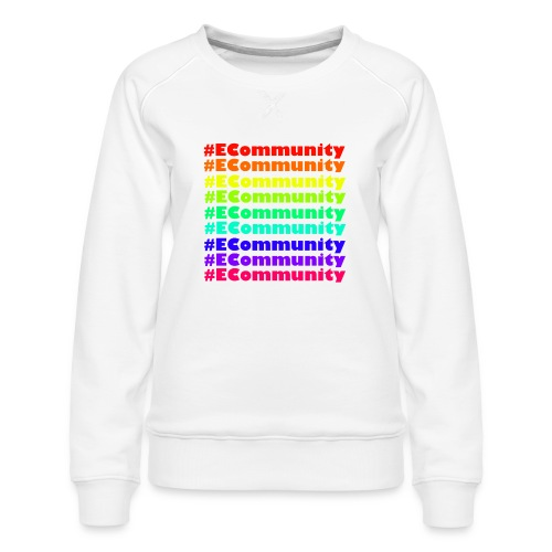 Ecommunity Rainbow - Frauen Premium Pullover