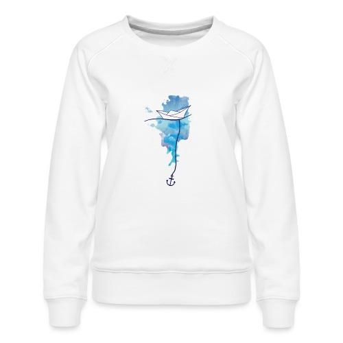 Papierschiff - Frauen Premium Pullover