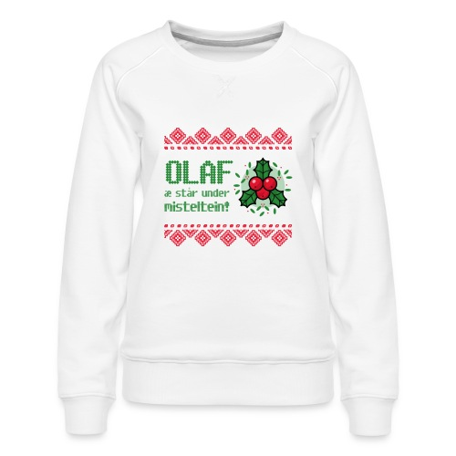 Stygg julegenser - Premium-genser for kvinner